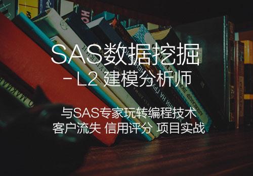 建模分析师-SAS专题