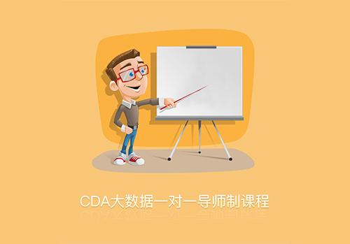 CDA大数据一对一导师制课程