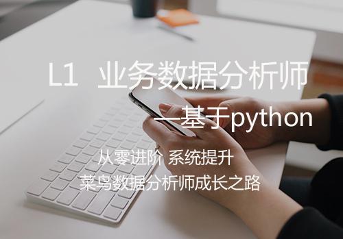 业务数据分析师-Python方向