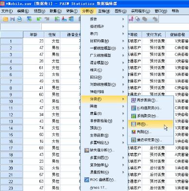 多变量分析:分类决策树CHAID&CRT