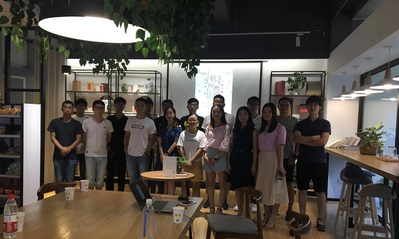 杭州CDA数据分析师学员和持证线下聚会举办