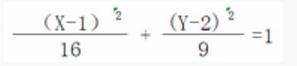 Excel:关于二次曲线直角坐标方程图像的描绘