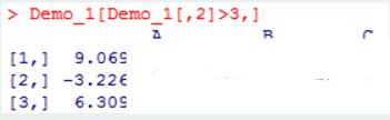 用R语言进行数据分析:矩阵
