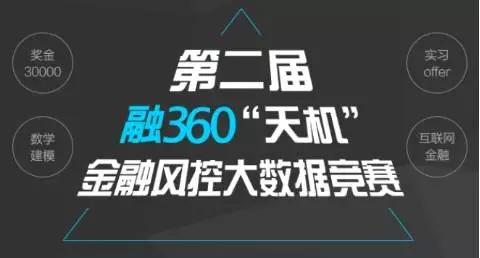 融360第二届天机金融风控大数据竞赛火热报名中!