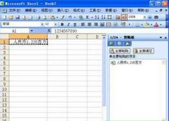 在excel中复制自定义数字格式的显示值