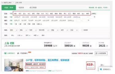 (干货)数据分析案例--以上海二手房为例