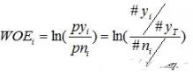 sas字符变量基于iv值的最优分类