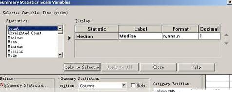 spss里面table的syntax解释