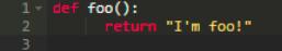 """Python函数 """"大脑移植"""""""