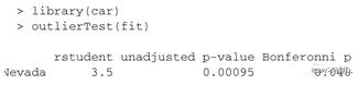 R语言-如何处理回归中的异常值点
