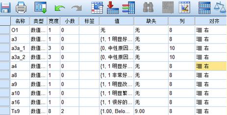 SPSS变量值标签的批量设置、复制、显示及删除问题