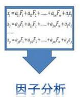 因子分析中根据因子载荷大小删除题目的标准