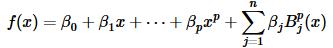 R语言与函数估计学习笔记(样条方法)