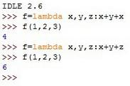【Python开发】Lambda表达式使用