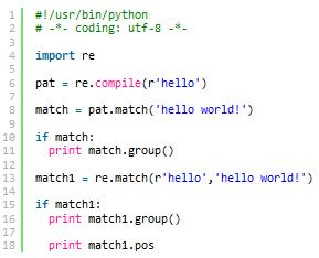 理解python正则表达式