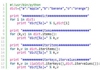 Python中遍历字典过程中更改元素导致异常的解决方法