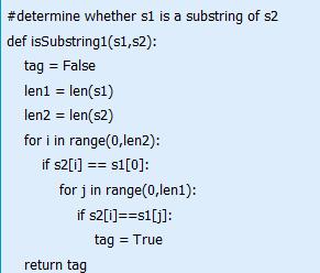 Python字符串中查找子串小技巧