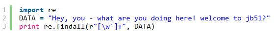 python按照多个字符对字符串进行分割的方法