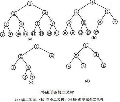 二叉树的性质以及二叉查找树的基本操作