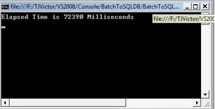 SQL Server 批量插入数据的两种方法
