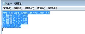 Python基于csv模块实现读取与写入csv数据的方法